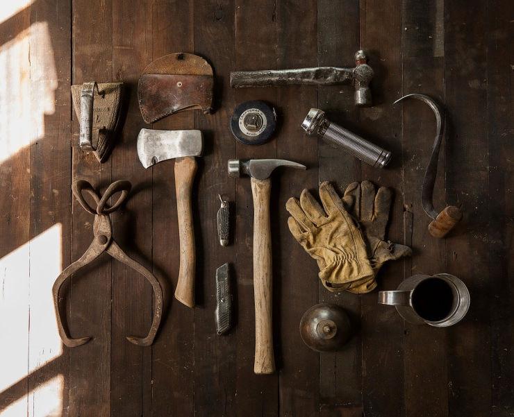 tools organised