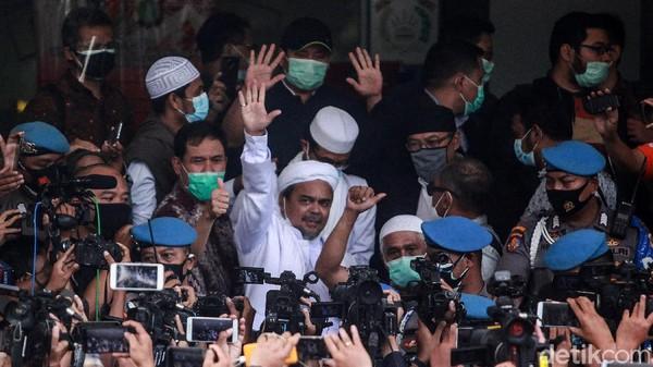 Babak Baru Kasus Habib Rizieq Saat Praperadilan Dilayangkan