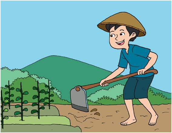 Gambar Belajar Pengertian Lingkungan Sebagai Tempat Berinteraksi Sosial Kartun Petani