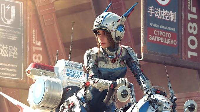Policial Feminina do Futuro