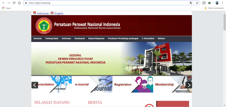 Cara Bayar Iuran PPNI Online perawatbaik.com