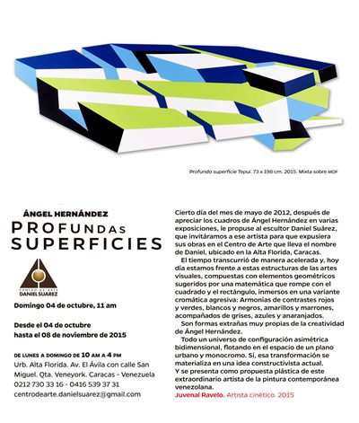 """Profundas superficies"""