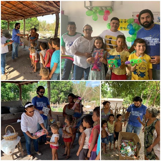 Com apoio da Prefeitura, equipe do PSF realiza ação na zona rural de Santa Quitéria-MA