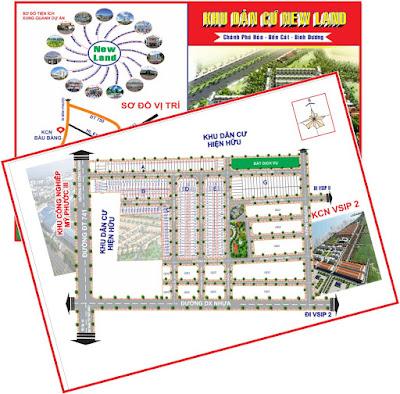 Thiết kế in bản đồ màu A3 A4 Bến Cát Bình Dương