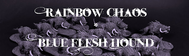 Flesh hounds Khorne Chaos Deamon