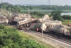 Keretapi Tergelincir Jejas 12,000 Penumpang #KTMB #SPAD