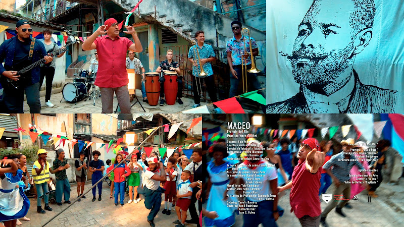 Francis del Río - ¨Maceo¨ - Videoclip - Director: Roly Peña. Portal Del Vídeo Clip Cubano. Música popular bailable cubana. Son. Salsa. Cuba.
