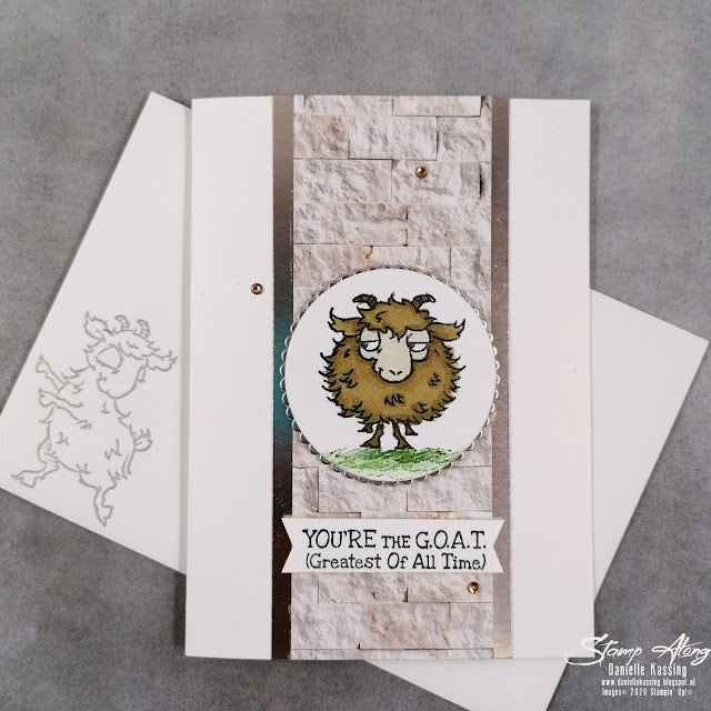 stampin' Up! Way to goat
