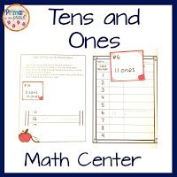 Tens and Ones Apple Themed