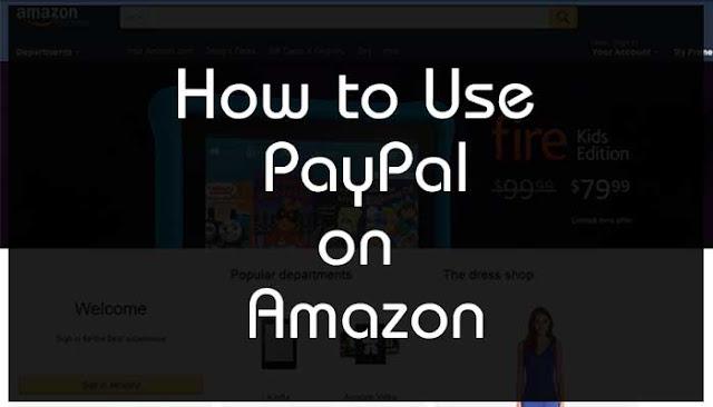 How to Use PayPal on Amazon : WikiAskMe