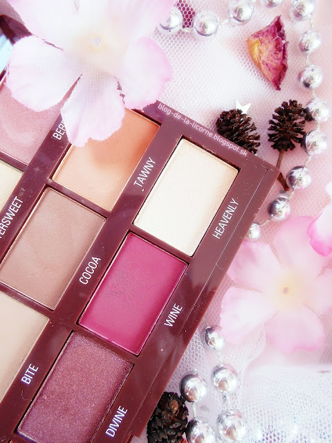 Makeup Revolution London I Heart Chocolate Cranberries & Chocolate paletka očných tieňov recenzia