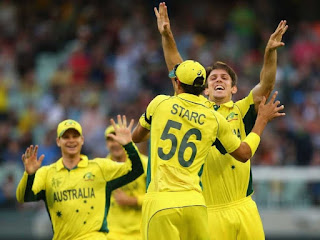 Aaron Finch 135 - Australia vs England Highlights - 2nd Match - ICC Cricket World Cup 2015
