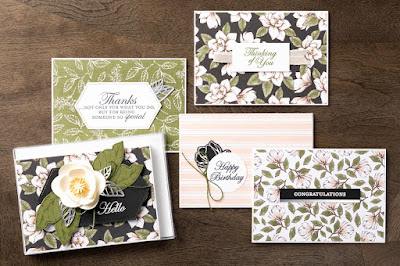 Stampin' Up! Magnolia Lane Designer Paper Projects ~ 2019-2020 Annual Catalog