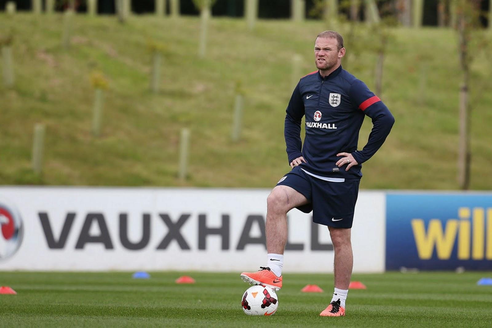 Rooney Tidak Sabar Kenakan Jersey Inggris Lagi