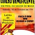 Leilão Beneficente em prol do tratamento de saúde de Madá