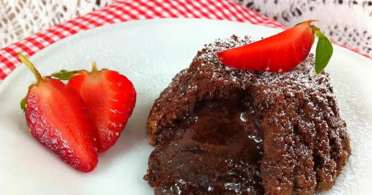Resep Chocolate Lava Cake Jtt: Resep Membuat Molten Lava Cake Chocolate Mudah Praktis