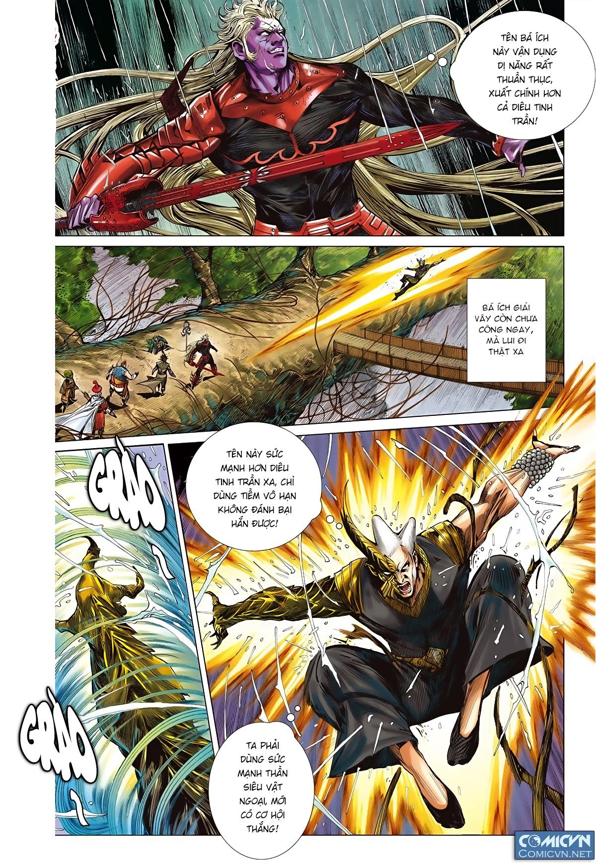 Sơn Hải Nghịch Chiến Chap 85 - Trang 10