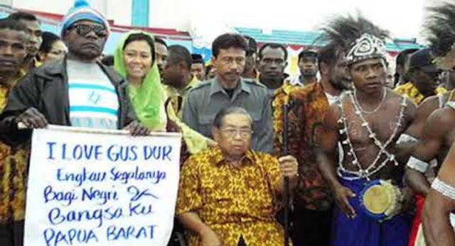 Aktivis Papua: Kami Merasa Punya Indonesia Hanya saat Era Presiden Gus Dur