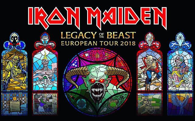 """Η φετινή περιοδεία των Iron Maiden """"Legacy Of The Beast"""""""