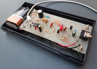 Prototype CW tone generator