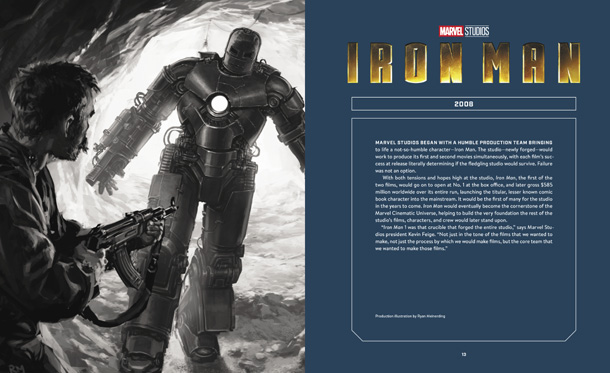 The Moviemaking Magic of Marvel Studios - Iron Man