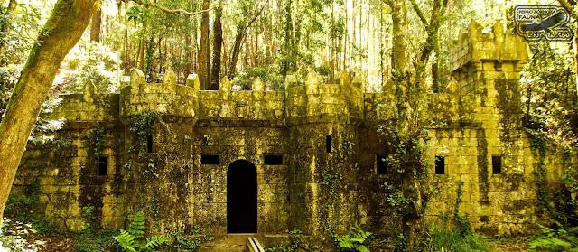 Castillo de O Frendoal. Bosque Encantado . Cangas