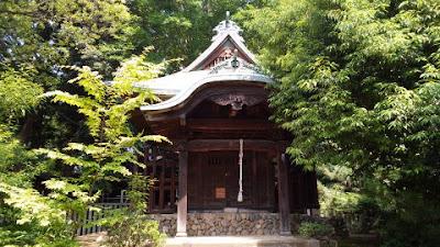 府中本町の金毘羅神社 社殿