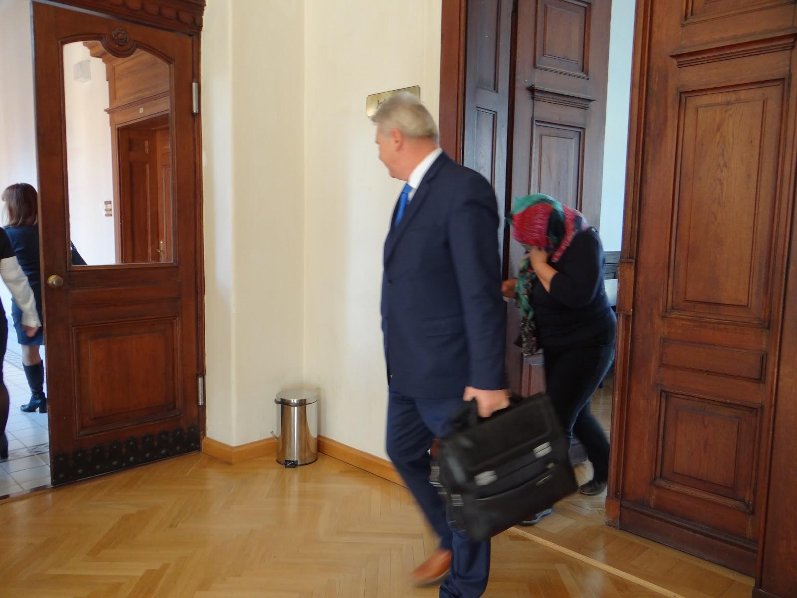 Odsouzená Světlana Stříbrcká. Autor: Michaela Jagusztynová