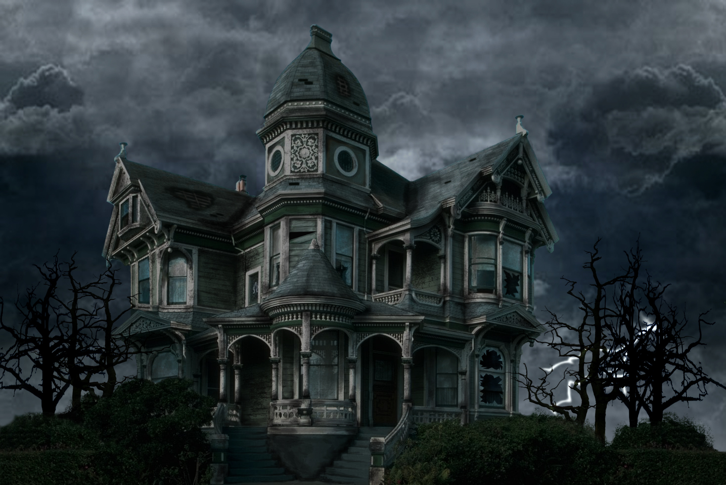 Scary Houses.
