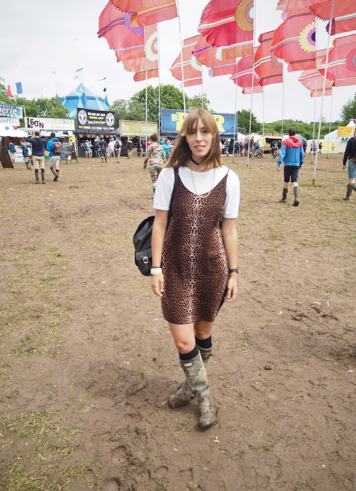 Nineties festival outfit at Glastonbury 2016