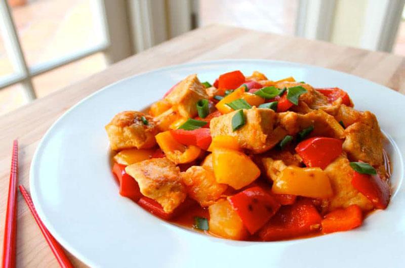 resepi ayam sweet sour