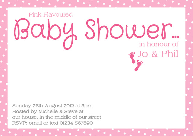 Sneak Peek! {Pink Flavoured Baby Shower}