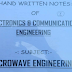 Microwave Engineering MWE Hand Written Lecture Notes PDF - Electronics Study Material Download