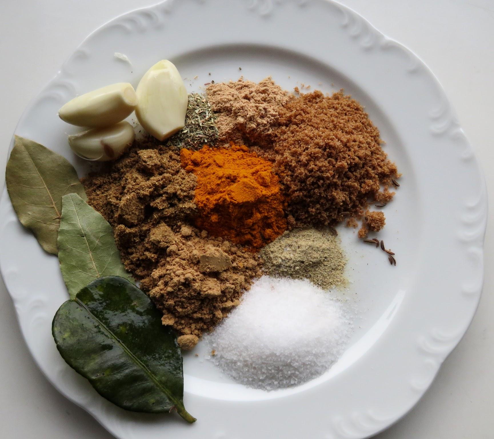 Gewürzmischung indonesisch kochen