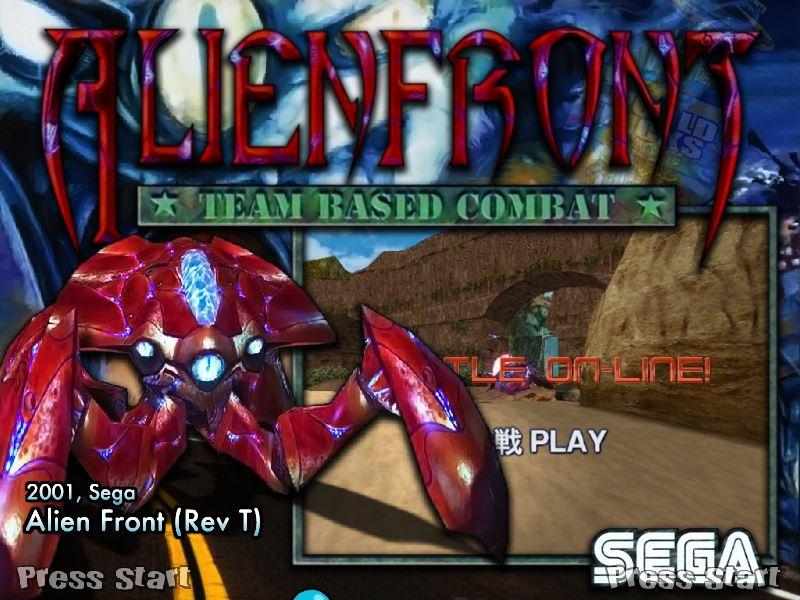 Alien Front Rom