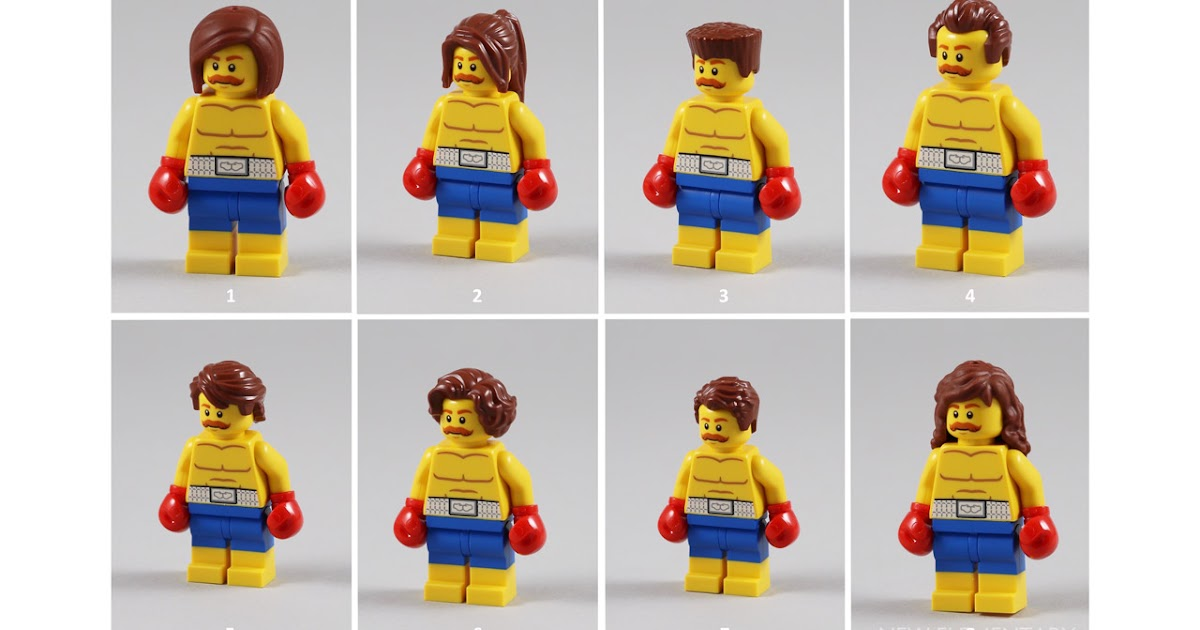 Hand Boxing Glove Left /& Right - PICK YOUR COLOR Minifig LEGO Body Part