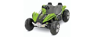 Power Wheels Dune Racer - Coche eléctrico para niños