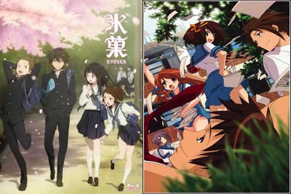 Anime yang mirip dengan hyouka - Suzumiya Haruhi no Yuuutsu