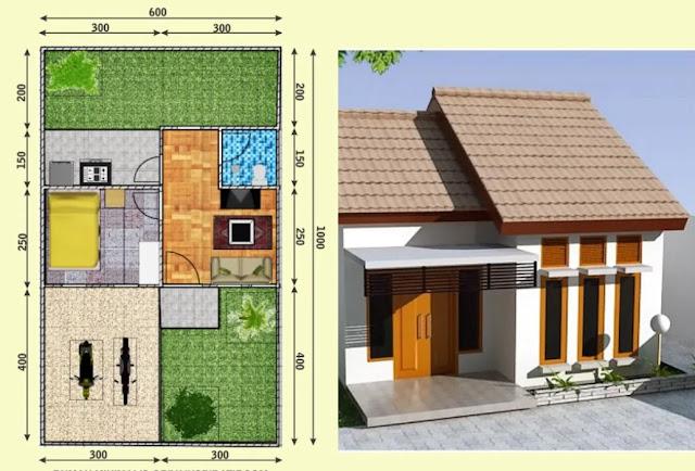 contoh teks observasi tentang rumah minimalis.