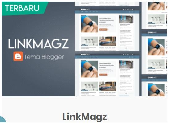 Linkmagz , Template Baru Maniak Menulis Buatan Mas Sugeng