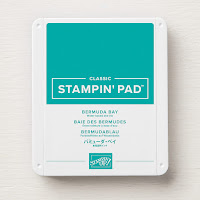 This image shows the Bermuda Bay Classic Stampin' Pad by Stampin' Up!