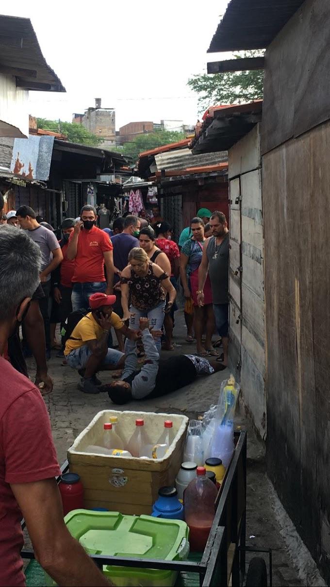 Plantão - Duas pessoas são alvejadas a bala na feira da sulanca de Caruaru