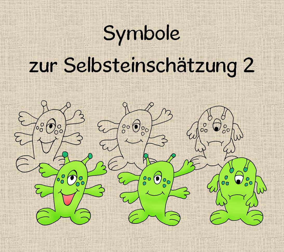 Symbole Zur Selbsteinschatzung