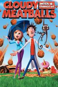 Cloudy with a Chance of Meatballs (2009) Hindi - Tamil - Telugu - Eng Download 400mb BDRip