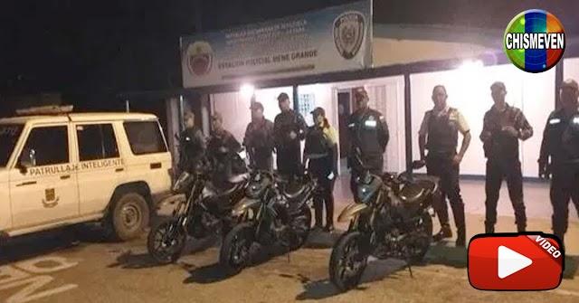 Comando de la PNB en El Mene fue atacado con tiros y granadas