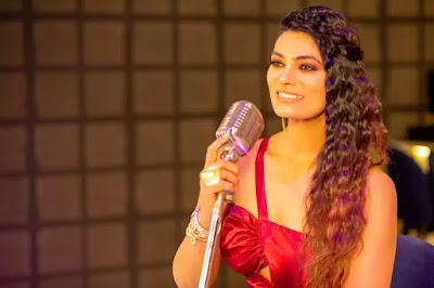 """City's celebrity anchor Ruchita Sharma's first cover song """"Kaisi Paheli Jindagani"""" was released"""