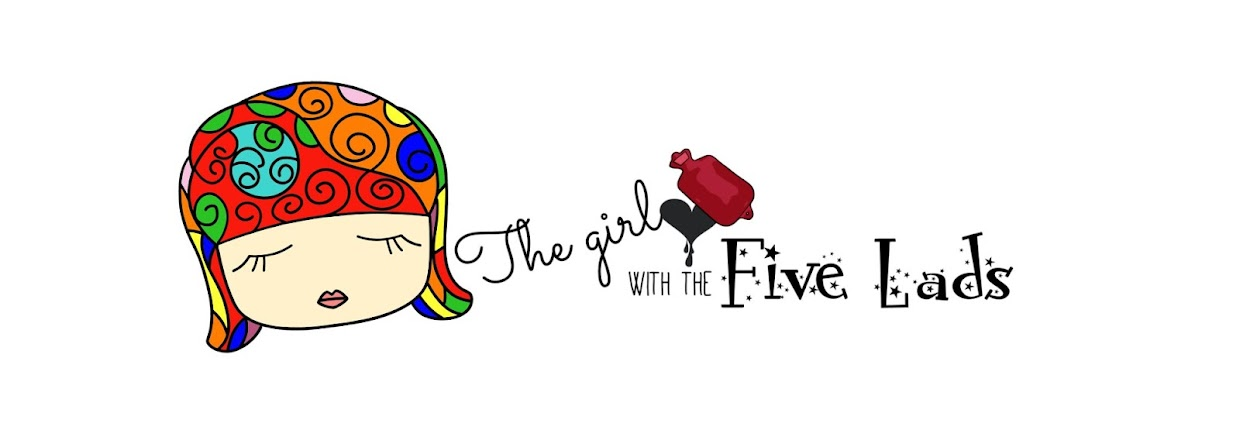 The girl with the five lads and fibro