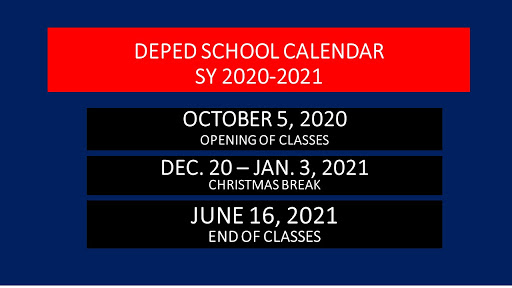 DepEd releases new School Calendar for S.Y. 2020-2021