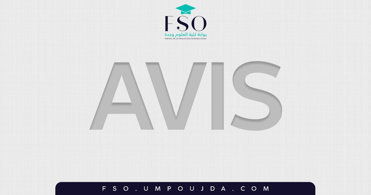 AVIS : Début des cours Master IHP 2018/2019