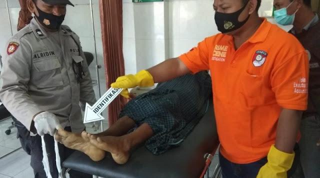 Seorang pria Asal Batujai ditemukan tewas pinggir jalan desa darek
